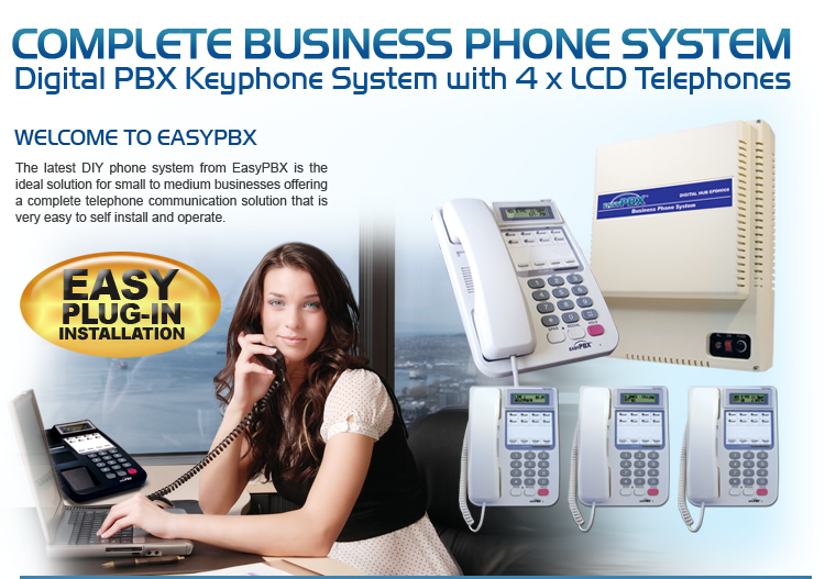 EasyPBX Complete Business Phone System